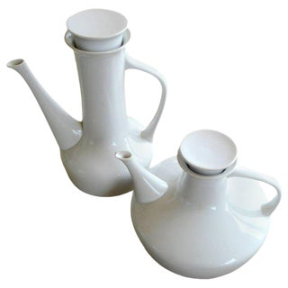 Two Teapots or Pitchers by Paul McCobb For Sale