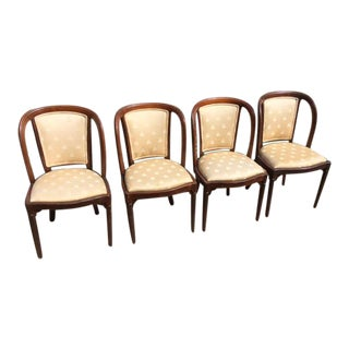 Antique Empire Style Dining Chairs- Set of 4 For Sale