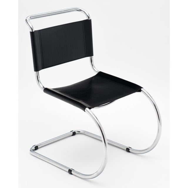 Mid-Century Modern Vintage Mies Van Der Rohe Cantilever Chairs - a Pair For Sale - Image 3 of 10
