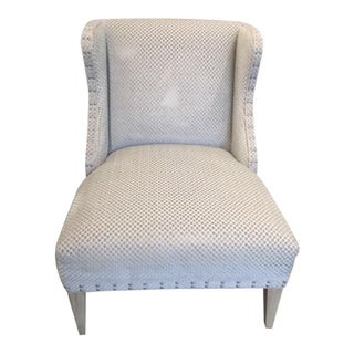 Early 21st Century Traditional Slipper Chair For Sale