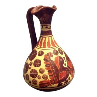 Corinthian Greece Reproduction Pitcher Vase