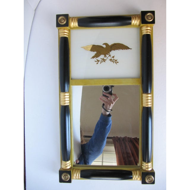 Federal-Style Eagle Crest Mirror - Image 3 of 6