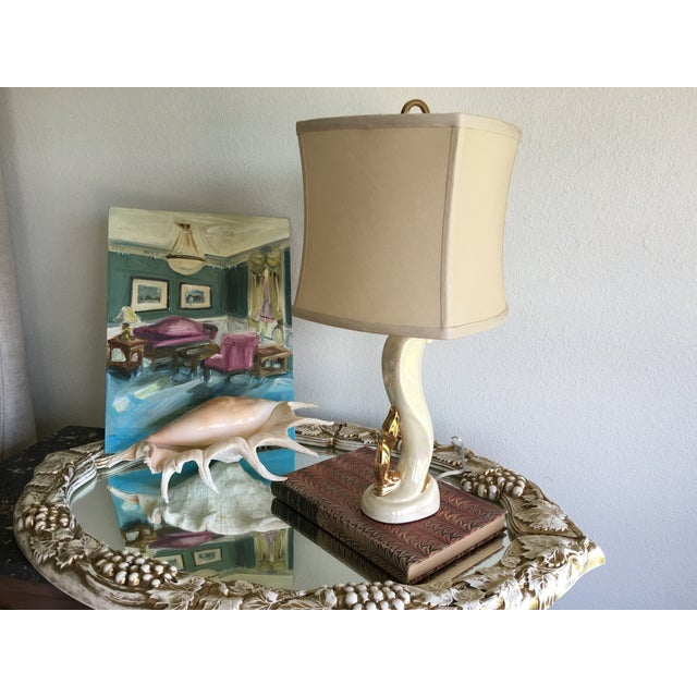 Aladdin Co. 1950s Aladdin Boudoir Lamps - a Pair For Sale - Image 4 of 7