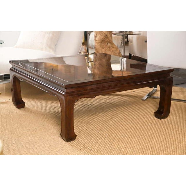 Mid-Century Coffee Table in the Style of Michael Taylor - Image 2 of 7