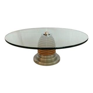J. Wade Beam for Brueton MCM Mid Century Modern Postmodern Coffee Table For Sale