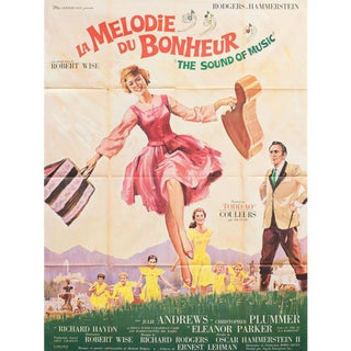 The Sound of Music 1965 French Grande Film Poster For Sale