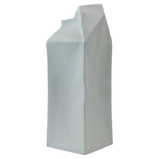 Rosenthal Studio Line Porcelain Milk Carton Vase For Sale