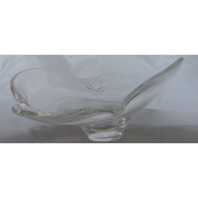 Signed Mid Century Steuben Glass Bowl - Image 4 of 5