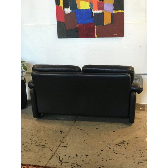 Afra & Tobia Scarpa Coronado Loveseat by Alfra and Tobia Scarpa For Sale - Image 4 of 6