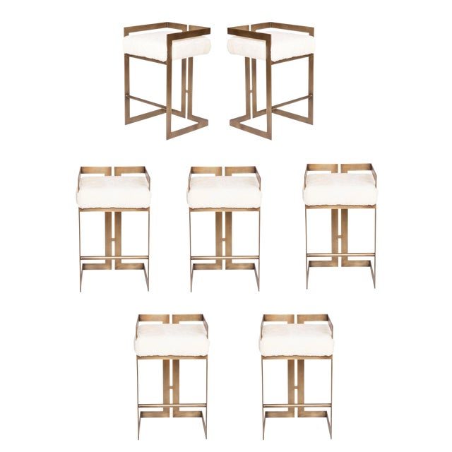 Set of 7 Murray Stools For Sale