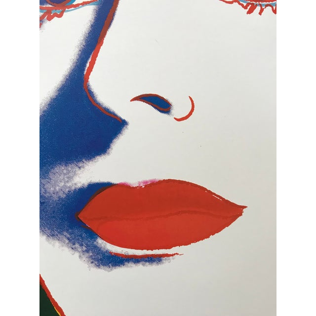 1993 Andy Warhol Foundation Reproduction Print of Ingrid Bergman For Sale In Palm Springs - Image 6 of 9