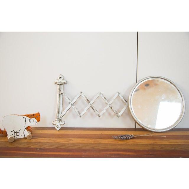 Antique Fleur De Lis Barber Mirror - Image 11 of 11