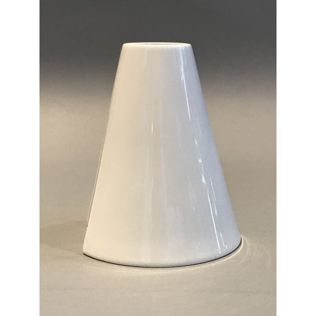 Ambrogio Pozzi, Rosenthal Geometric Op Art Lady's Gown Porcelain Vase For Sale In New York - Image 6 of 9