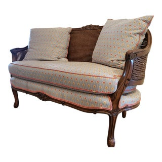 Vintage French Love Seat For Sale