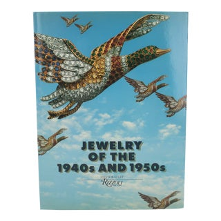 'Jewelry of the 1940s and 1950s' by Sylvie Raulet Collector's Coffee Table Book For Sale
