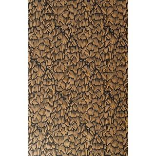 Gaar Black & Gold Wallpaper - 1 Double Roll For Sale