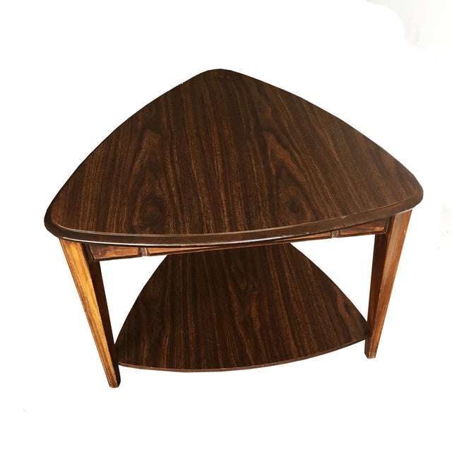 Mid Century Mersman Guitar Pick End Table Chairish - Coffee table stores near me