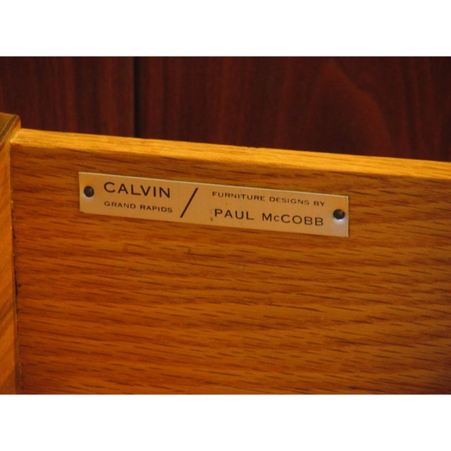 1950's Mid Century Walnut Server by Paul McCobb For Sale - Image 10 of 11