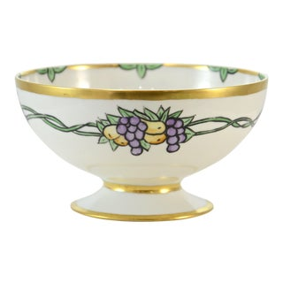 Haviland Hand Painted Bowl For Sale