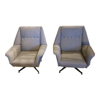 Pair of Gingham Chairs