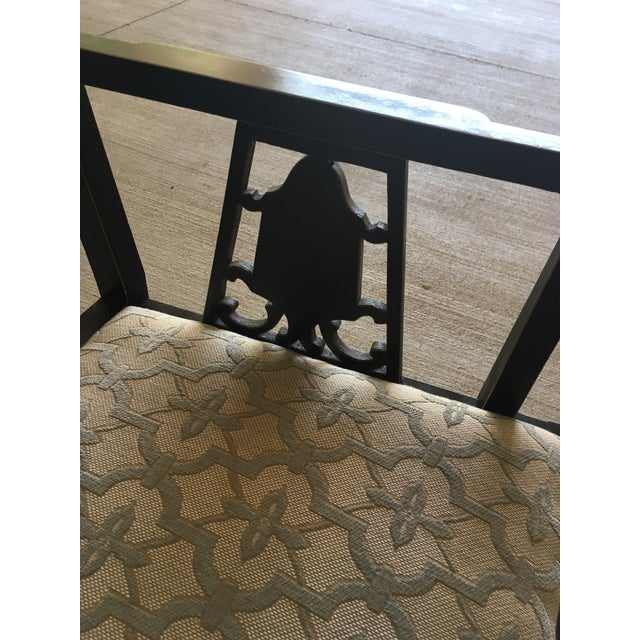 Chinese Chippendale Bench Settee For Sale - Image 4 of 8