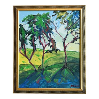 Original Juan Guzman Plein Air California Landscape Painting For Sale