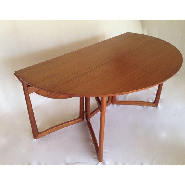Peter Hvidt & Orla Molgaard Drop-Leaf Table - Image 3 of 9