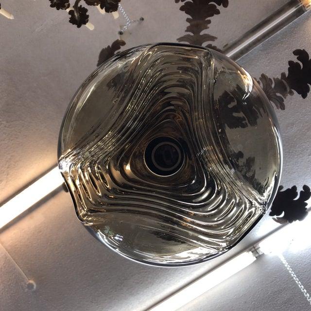 Peill & Putzler Peill & Putzler Mid-Century Art Glass Light For Sale - Image 4 of 8