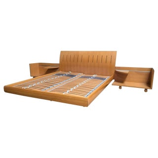 Ligne Roset Queen Bed Set For Sale