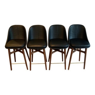 Modern De La Espada Solo Breakfast Bar Stools- Set of 4 For Sale