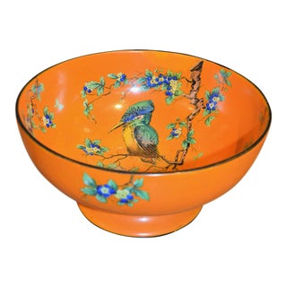 1920's Art Deco Thomas Forester Phoenix Centerpiece Bowl For Sale