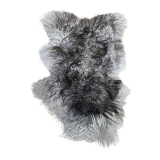 Ombré Sheepskin Rug For Sale