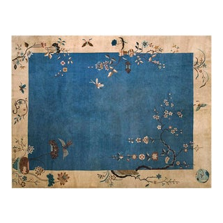 "1920s Chinese Art Deco Rug - 9'x11'10"" For Sale"