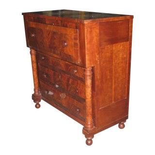 Empire Dresser With Flip Top Desk Circa 1860