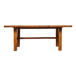 Rare 19th Century Solid Molave Wood Table For Sale