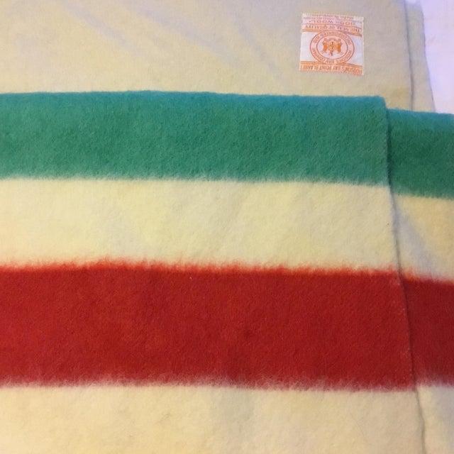Textile Hudson's Bay Point Blanket For Sale - Image 7 of 8