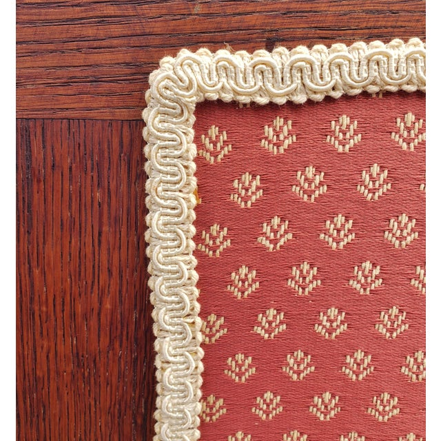 Wood 19th C Victorian American Upholstered Carved Oak Rocking Chair For Sale - Image 7 of 10