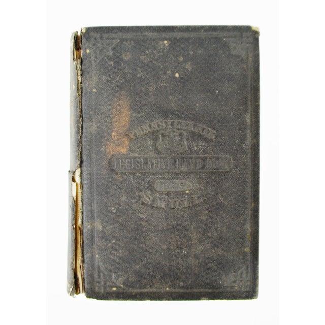 1875 Pennsylvania Legislative Handbook W/ Antique 1875 Map of Pennsylvania Smull For Sale - Image 10 of 13