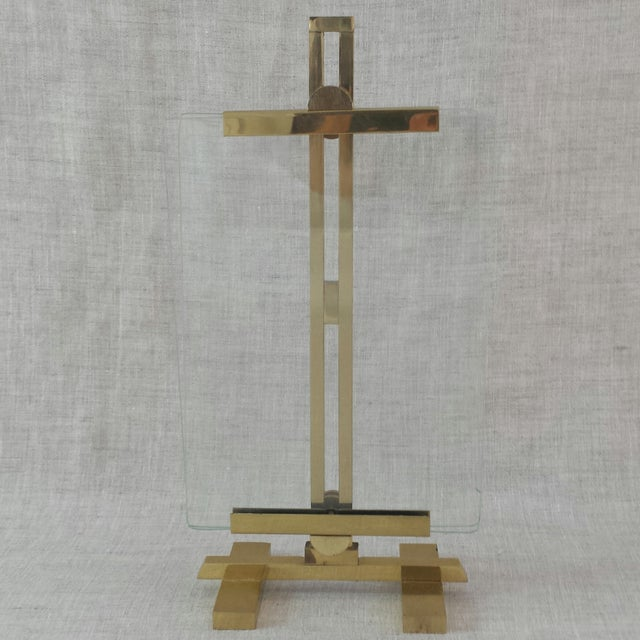 Adjustable Artwork & Photography Brass Easel - Image 2 of 7