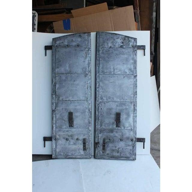 Antique Distillery Metal Shutters - Image 2 of 3