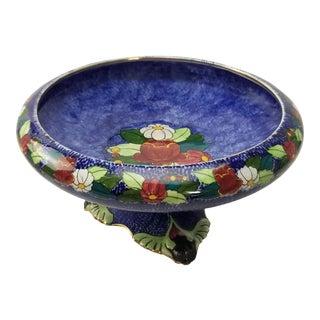 Royal Winton Grimwades Byzanta Ware Footed Dish - Pedestal Bowl For Sale