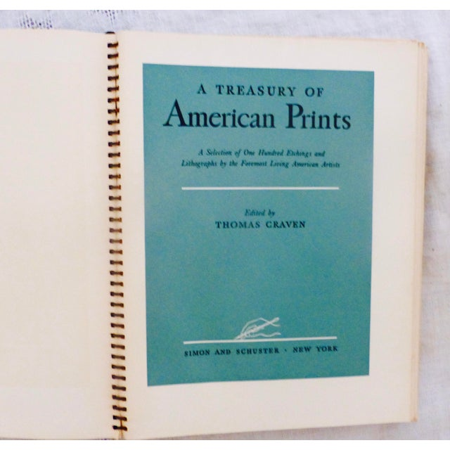 Traditional 1939 Treasury of American Prints: Benton, Wood, Curry, Hopper For Sale - Image 3 of 11