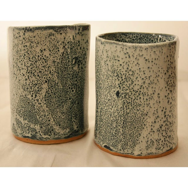 Studio Pottery Vases - A Pair - Image 3 of 11