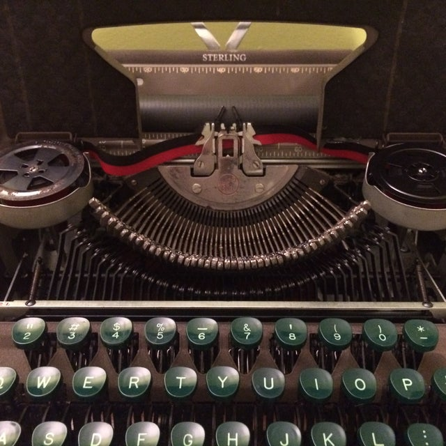 Vintage Smith-Corona Sterling Typewriter & Case - Image 4 of 8