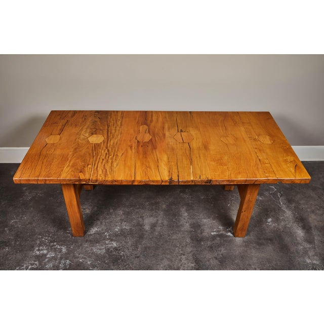 Rare 19th Century Solid Molave Wood Table For Sale - Image 4 of 10