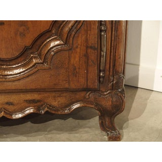 17th C. French Vaisselier From Lorraine With Bombe Center Drawers Preview