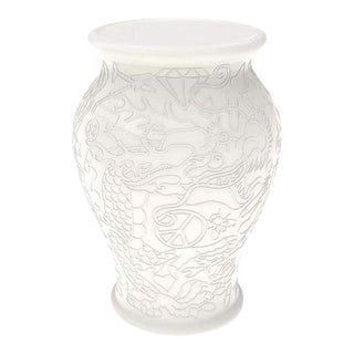 Chinese Ming White Stool by Studio Job For Sale