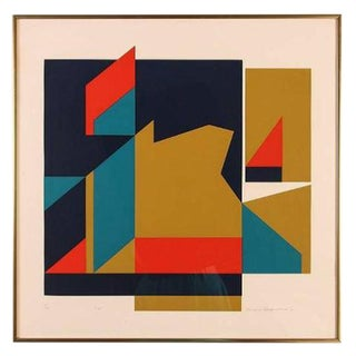Arnold Hoffmann Jr. View Abstract Serigraph