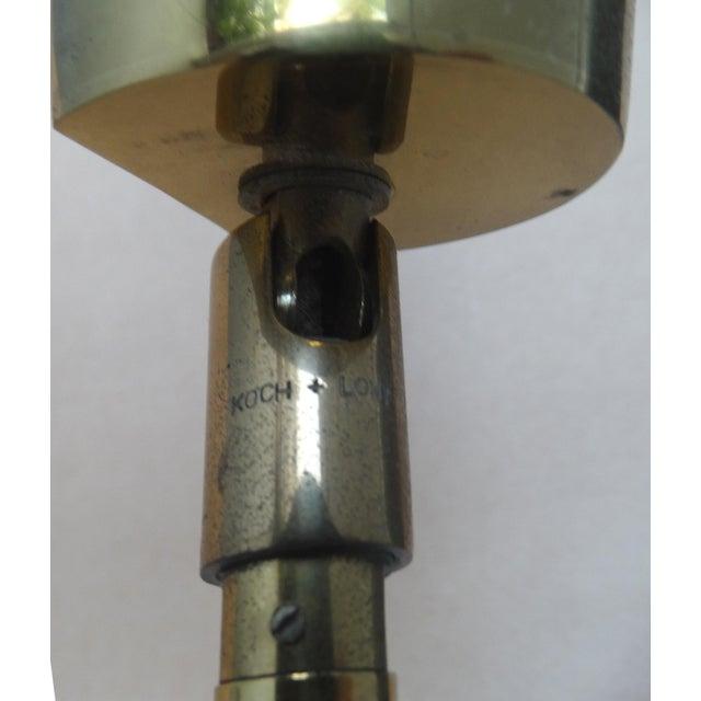 Koch & Lowy Brass Swing Arm Floor Lamp - Image 5 of 11
