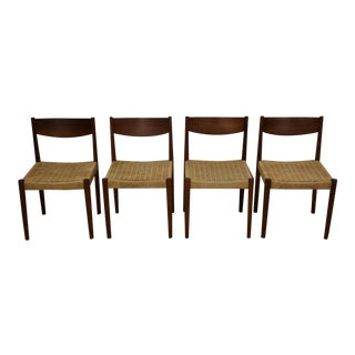 Poul Volther Teak Dining Chairs - Set of 4